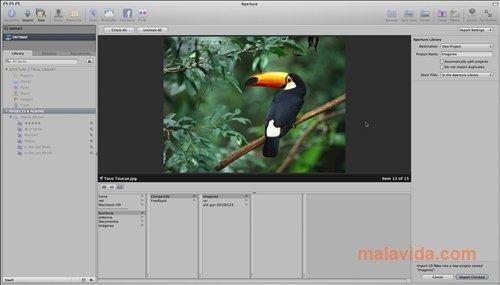 Aperture Mac image 4