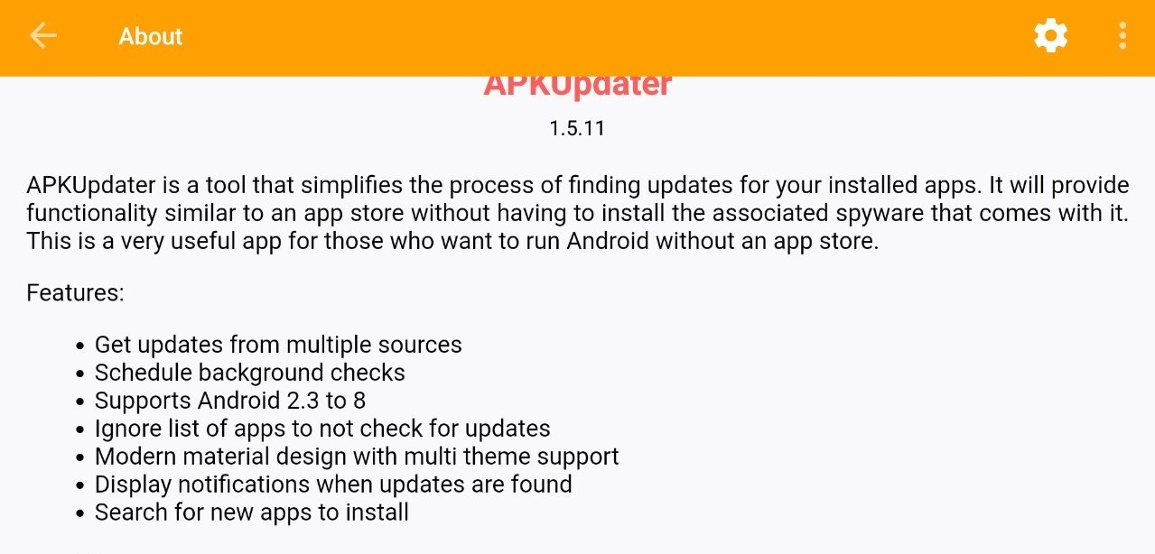 APKUpdater 1 5 11 - Download for Android APK Free