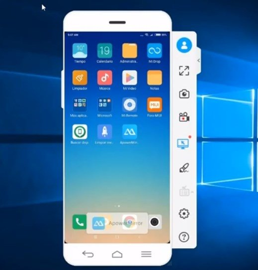 ApowerMirror 1 5 8 7 - Download for Android APK Free