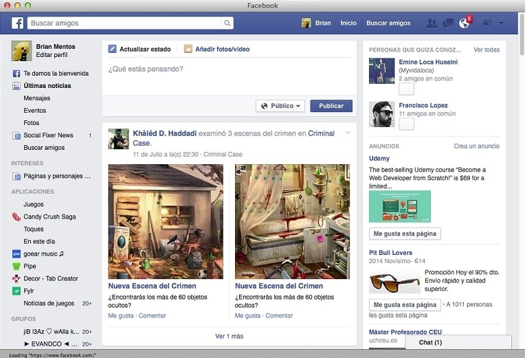 App for Facebook 1 0 - Download for Mac Free