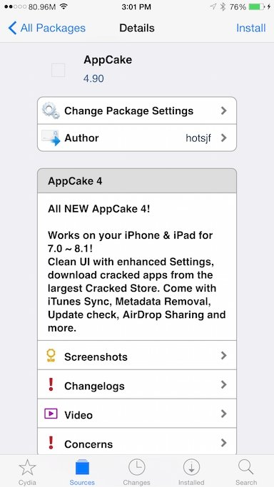 AppCake - Download for iPhone Free