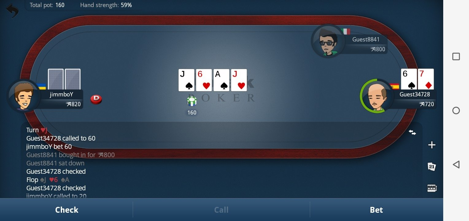 Meilleure appli android poker app