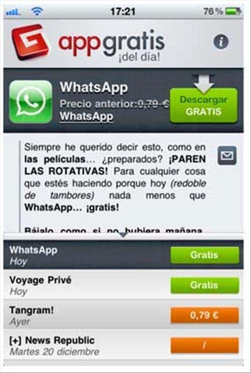 AppGratis iPhone image 2