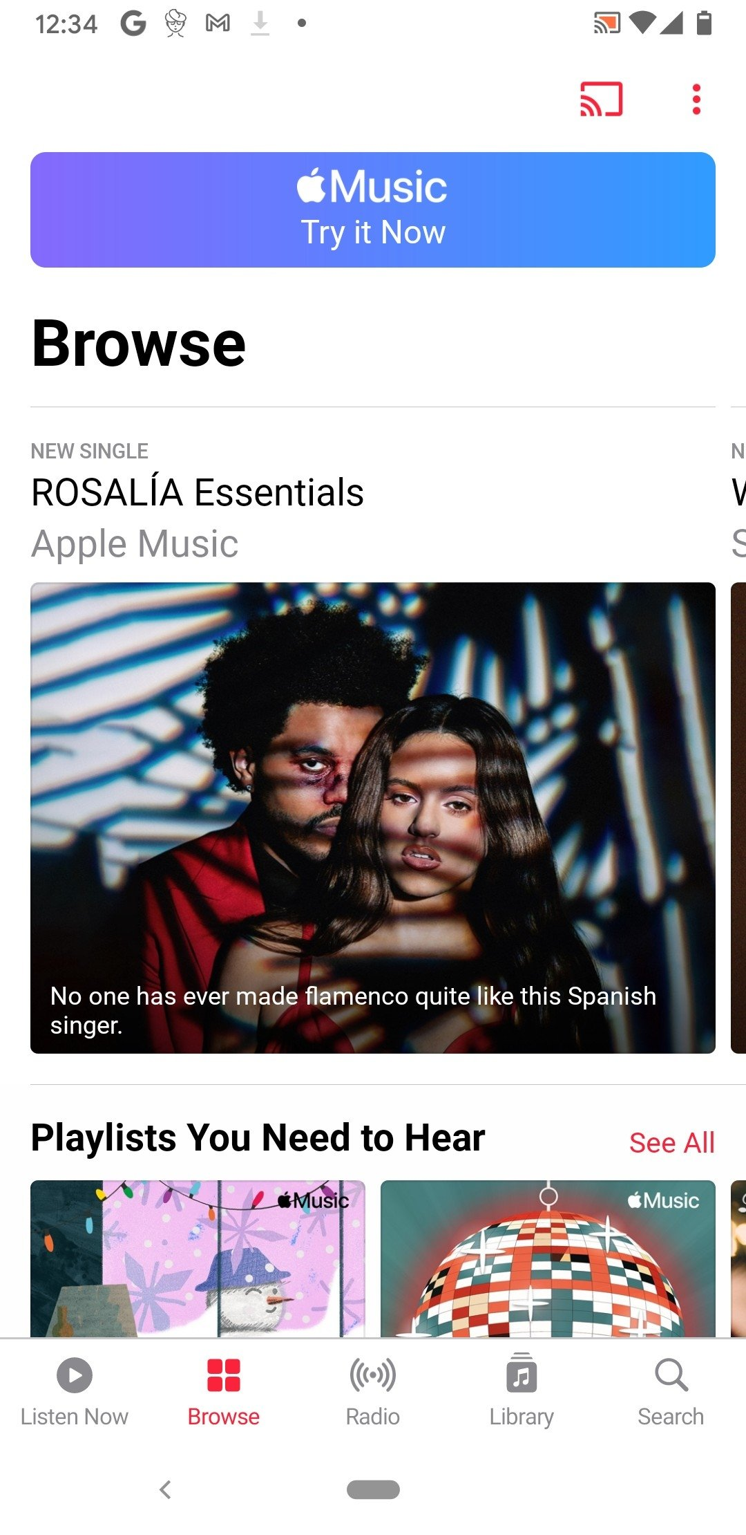 Apple Music Android image 5