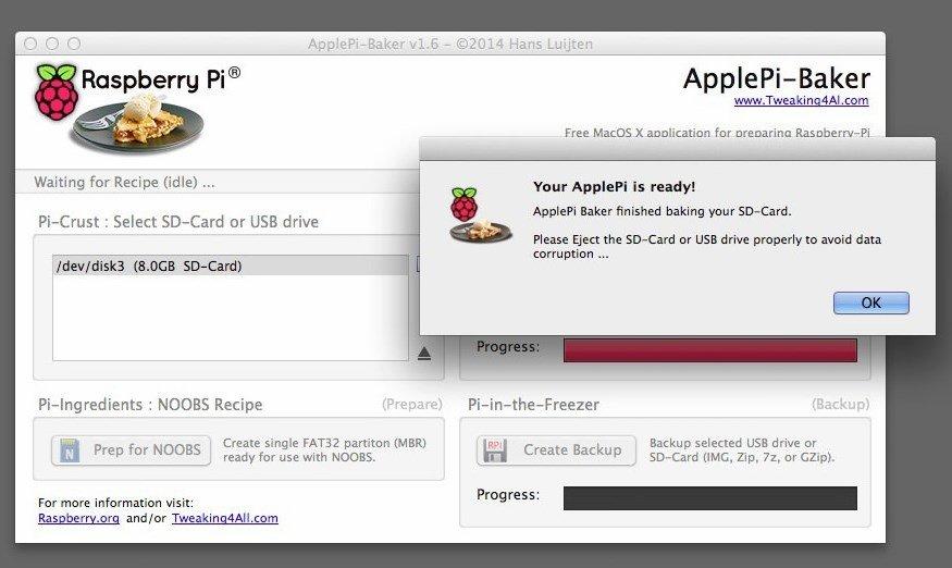 install raspbian on usb mac