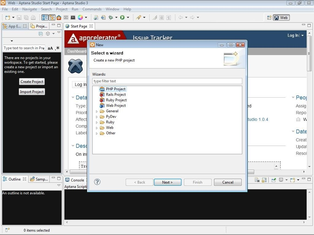 Aptana Studio 3 7 2 - Download for PC Free
