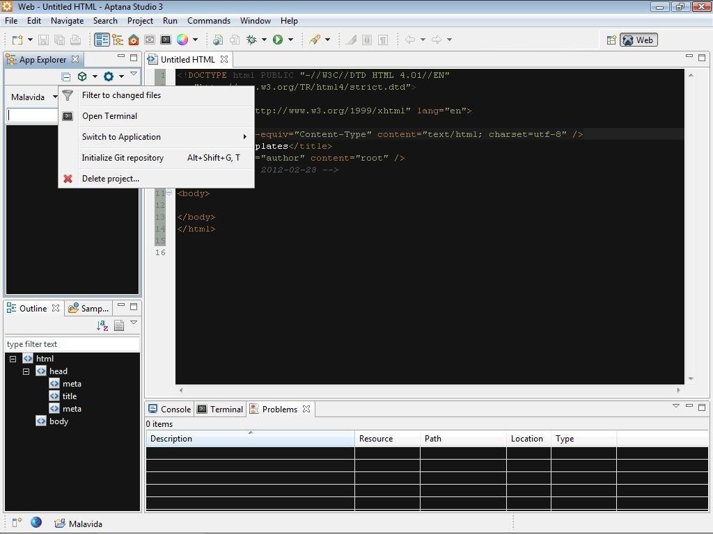 Aptana Studio 3 7 2 - Baixar para PC Grátis