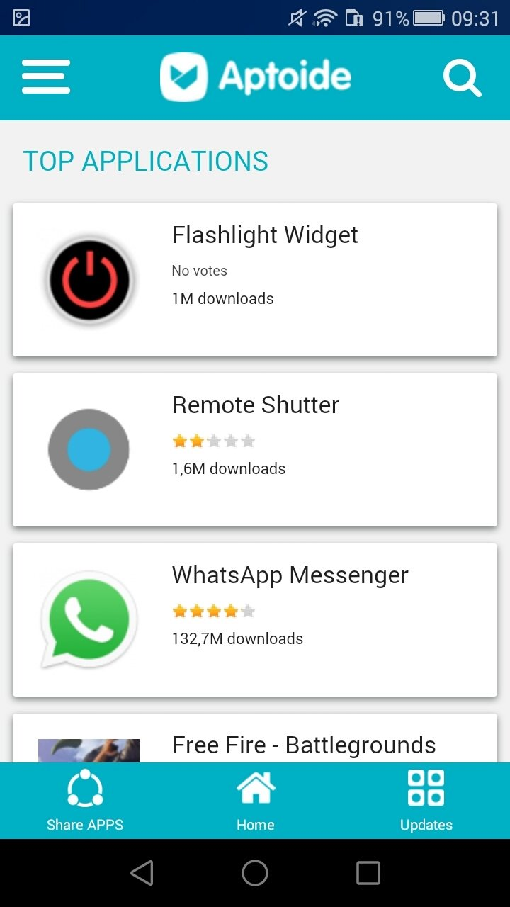 Aptoide Lite 2 0 2 - Download for Android APK Free