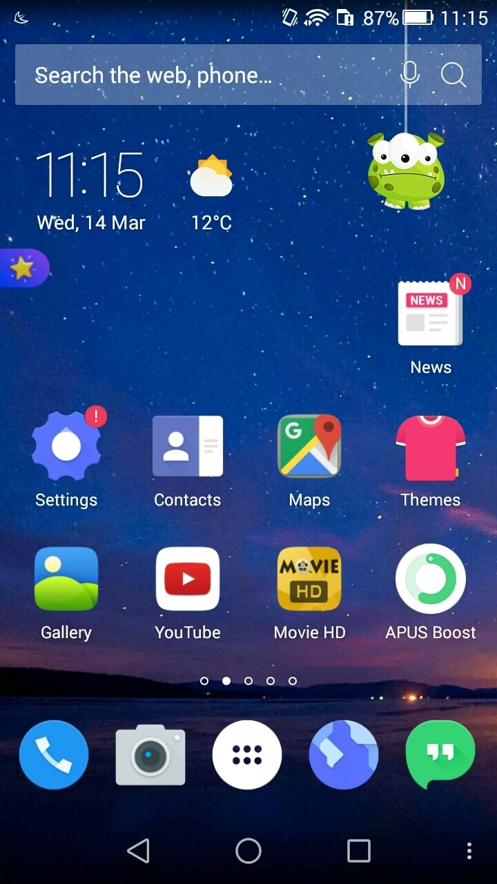 APUS Launcher Android image 7