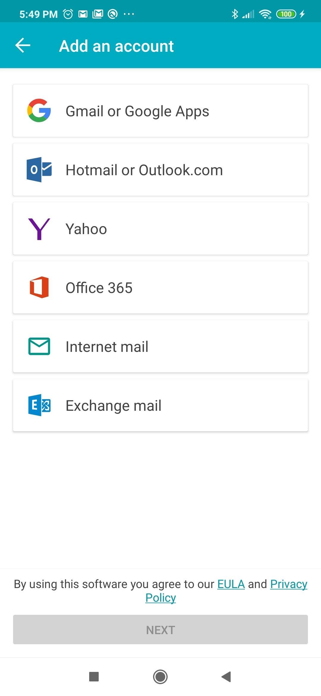 Aqua Mail Android image 5