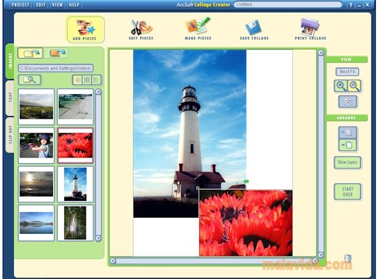 Arcsoft Collage Creator image 4