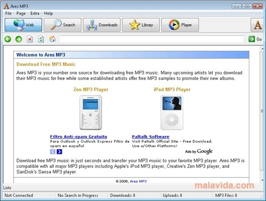 Download mp3 free ares