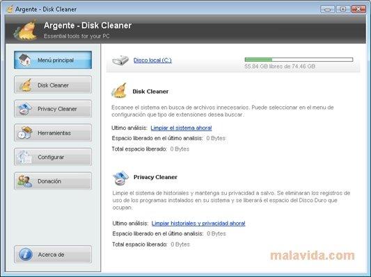 Argente Disk Cleaner image 6