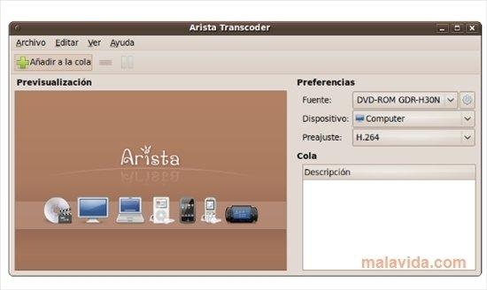 Arista Transcoder Linux image 4