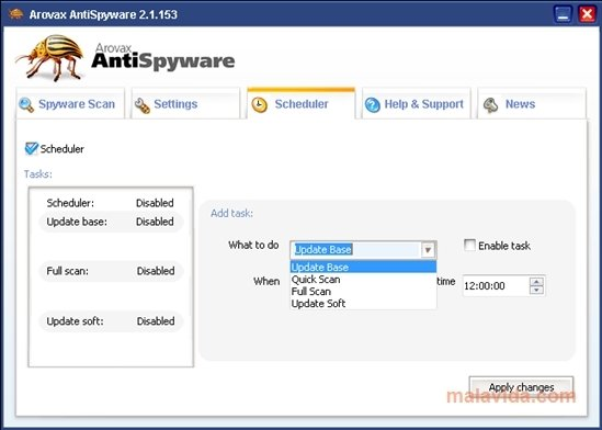arovax anti spyware