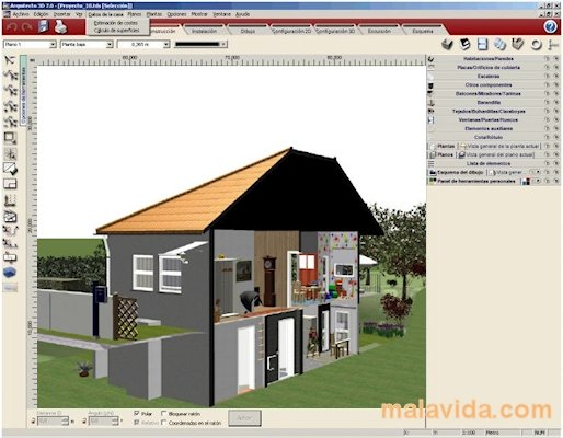 Descargar arquitecto 3d 7 0 gratis en espa ol Diseno de interiores 3d data becker windows 7