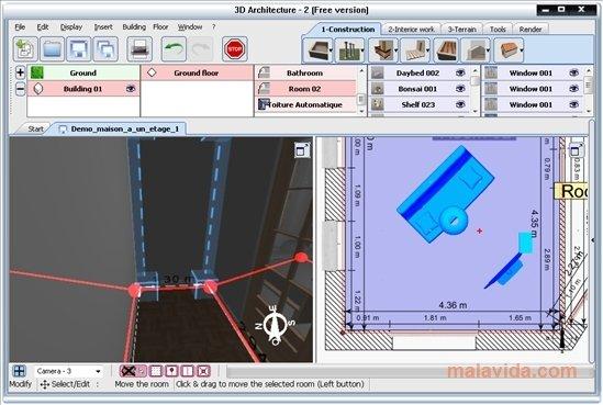 Descargar arquitectura 3d 2 1 gratis for Software arquitectura 3d