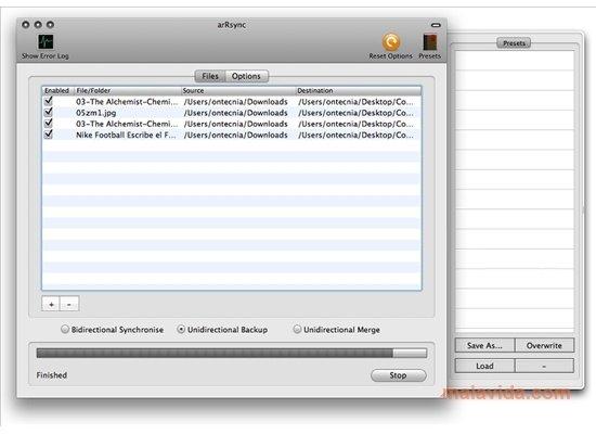 arRsync Mac image 4