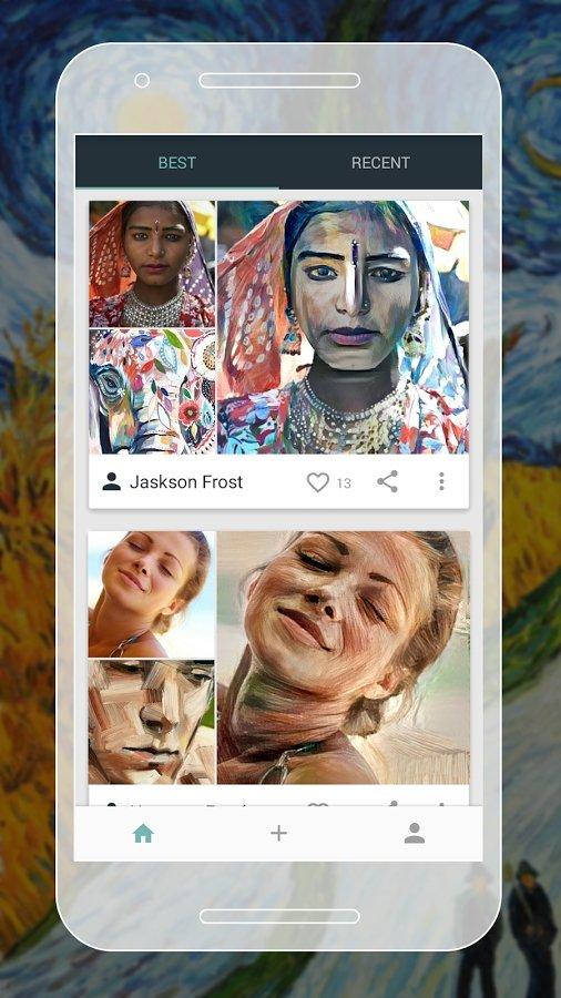 ArtBot photo art editor Android image 5