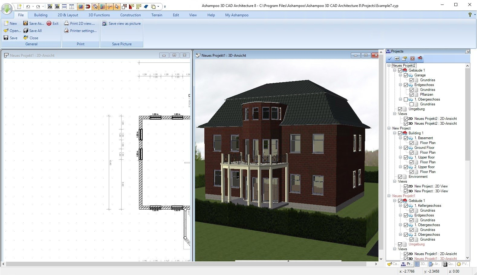 Ashampoo 3D CAD Architecture 7 0 0 - Download for PC Free