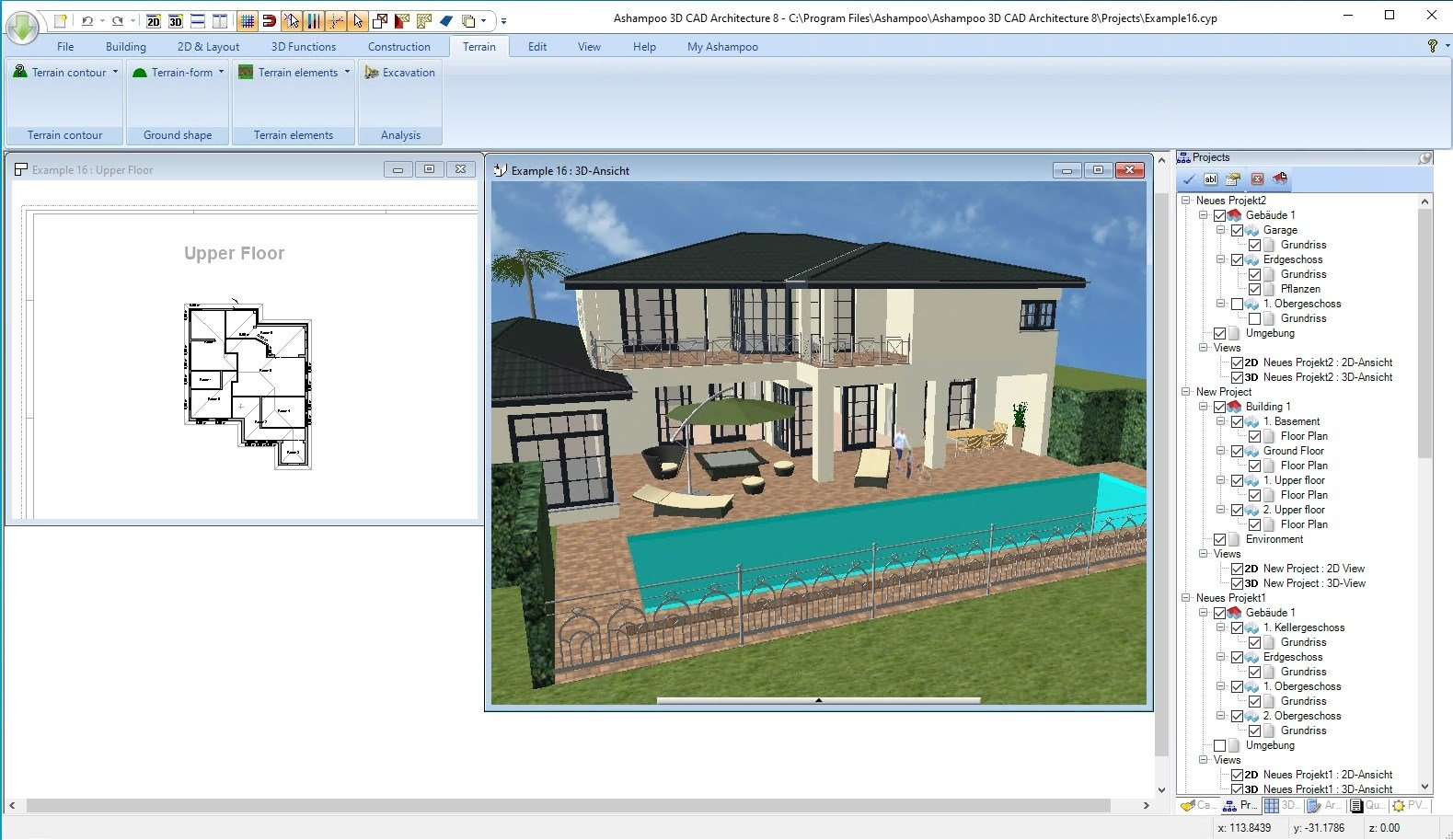 Download ashampoo 3d cad architecture 6 1 0 gratis in for Cad 3d free italiano