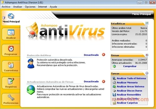 Ashampoo Antivirus 2015 1.2.0