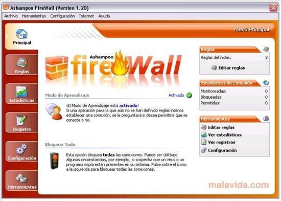 Ashampoo Firewall image 3