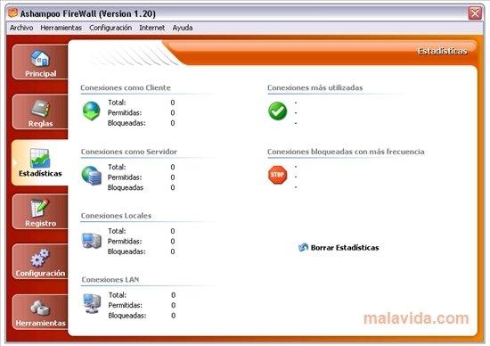 ashampoo firewall free 1.20