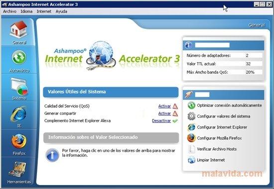Ashampoo Internet Accelerator image 5