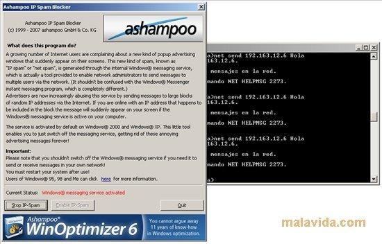 Ashampoo IP Spam Blocker image 3