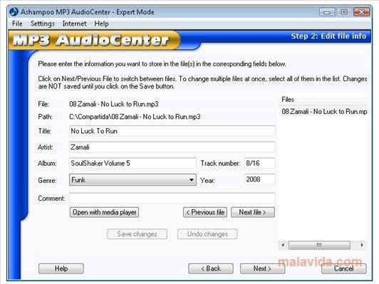 Ashampoo MP3 AudioCenter