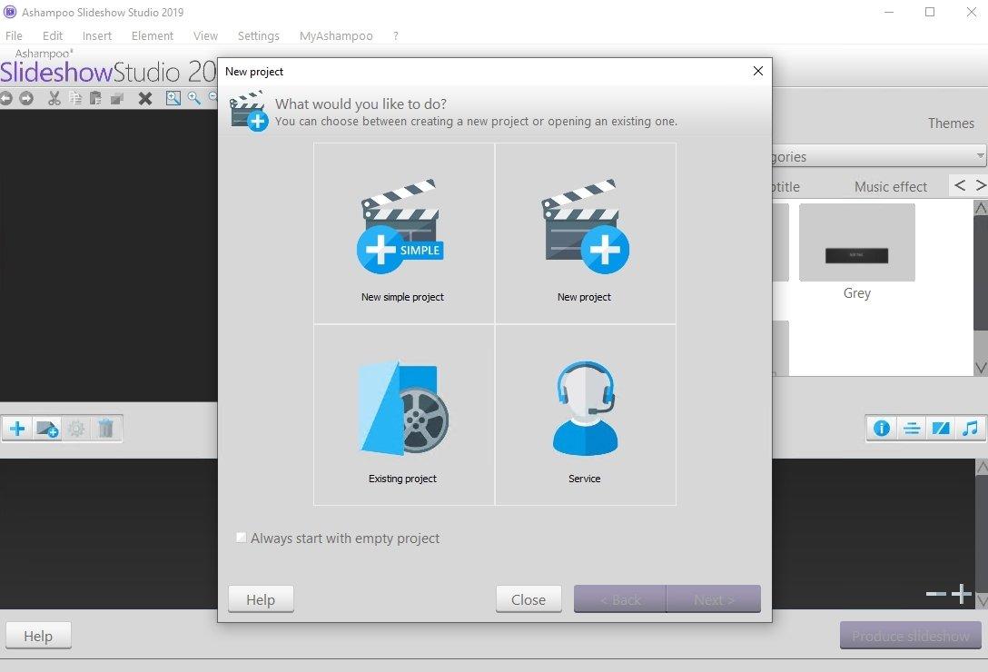 Ashampoo Slideshow Studio HD image 5