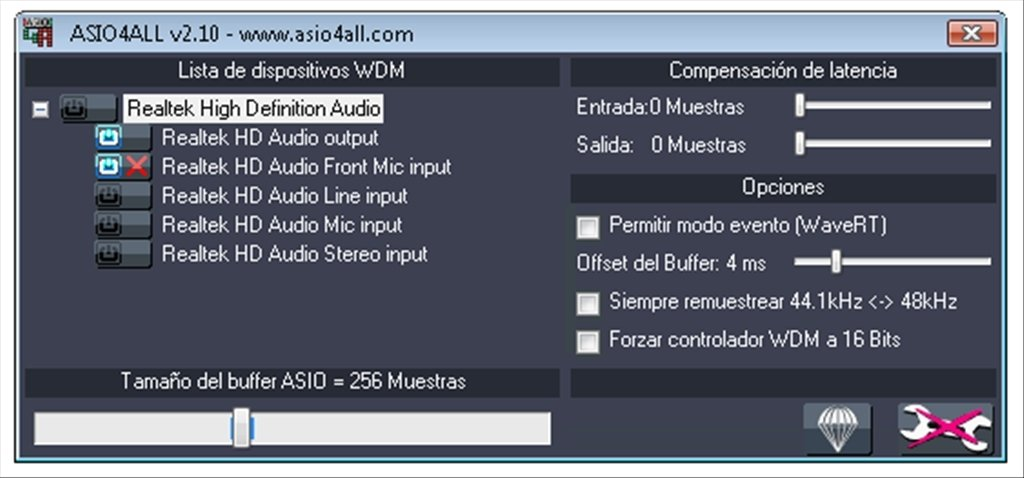 ASIO4ALL 2.12