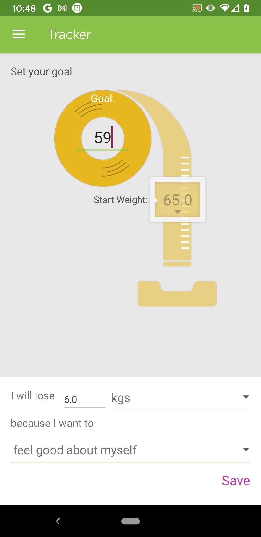 App para dietas android