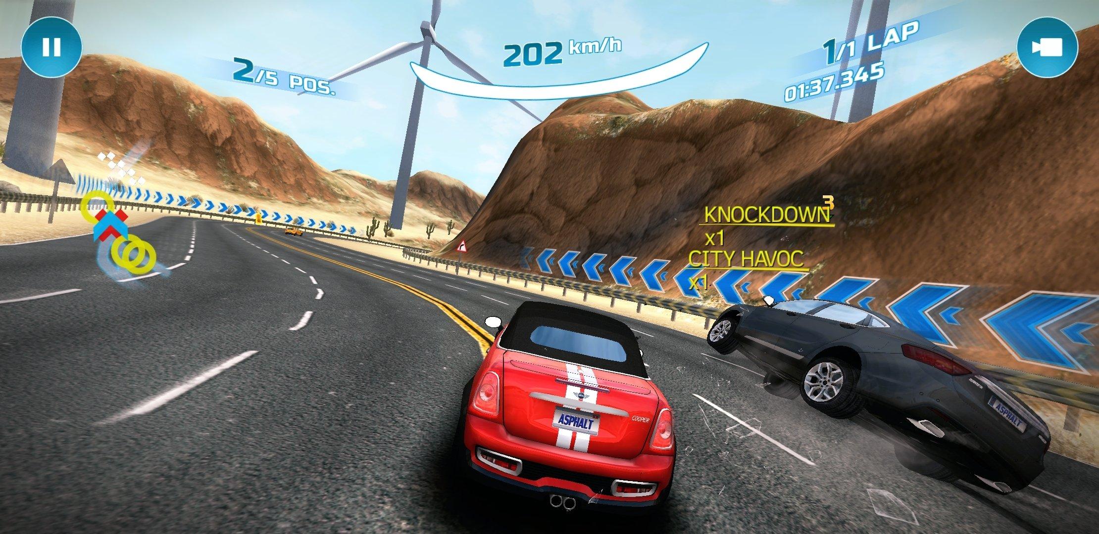 asphalt nitro hack mod android1.com