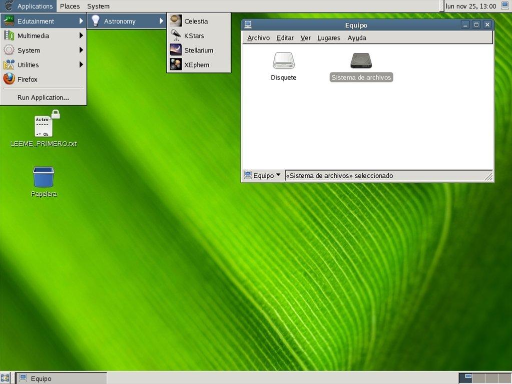 AstroGarrobo Linux image 4