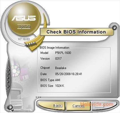 ASUS Update 7 18 03 - Download for PC Free