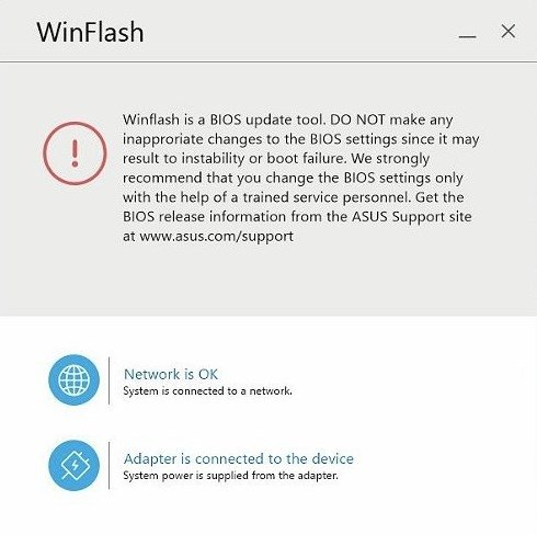 ASUS WinFlash 3 2 10 - Download for PC Free