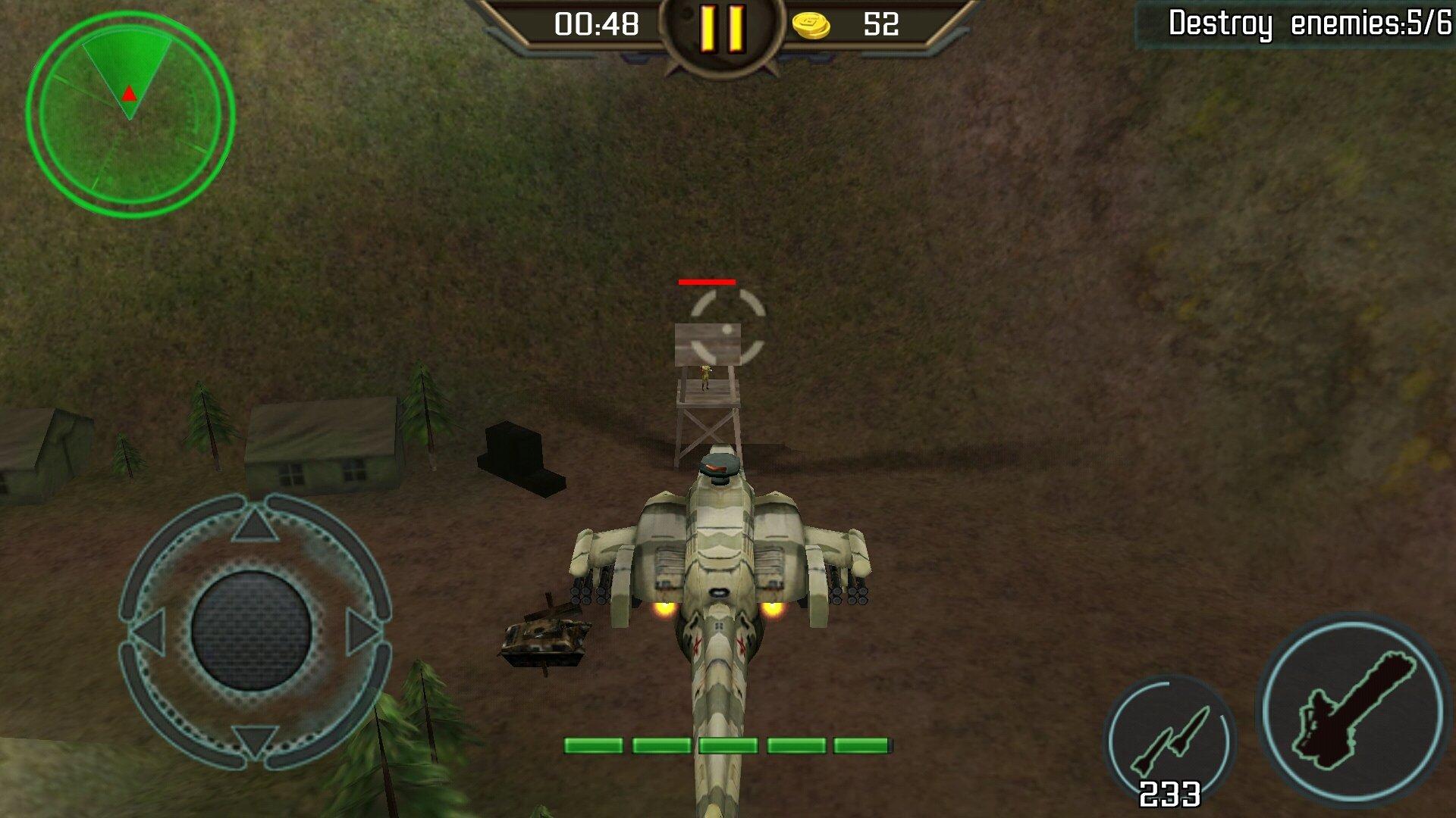 raid aérien de lhélicoptère mod apk