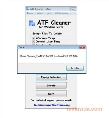 atf cleaner gratuit