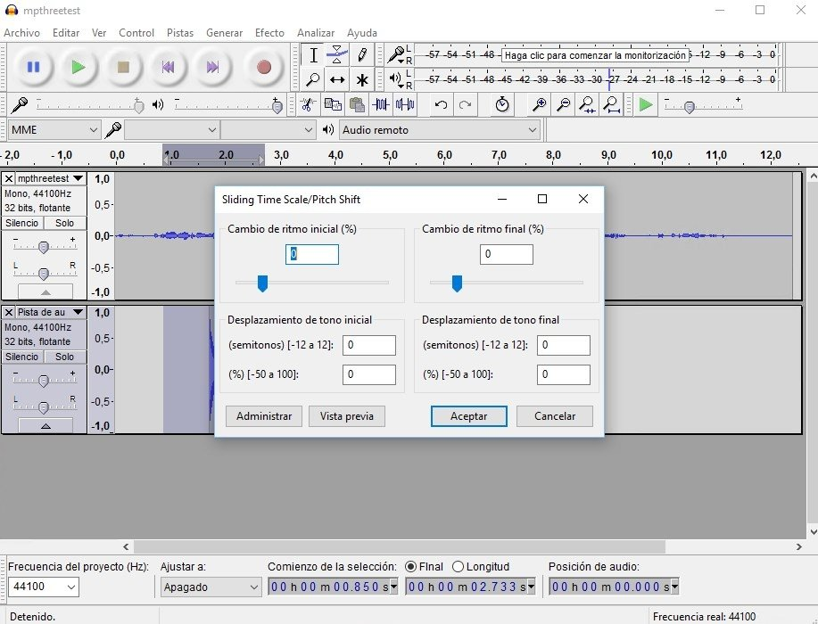 Audacity 2 3 2 - Download for PC Free