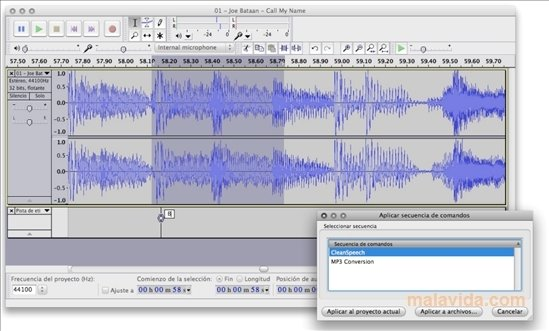 Audacity 2 3 2 - Download for Mac Free
