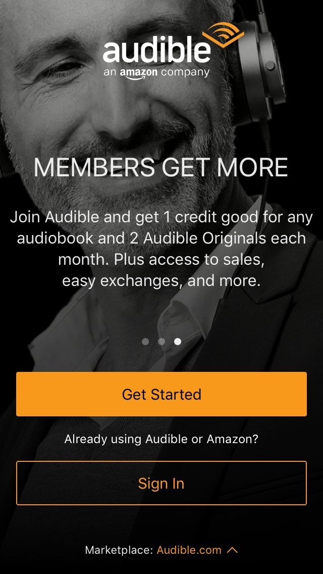 Audible audio books & podcasts - Download for iPhone Free