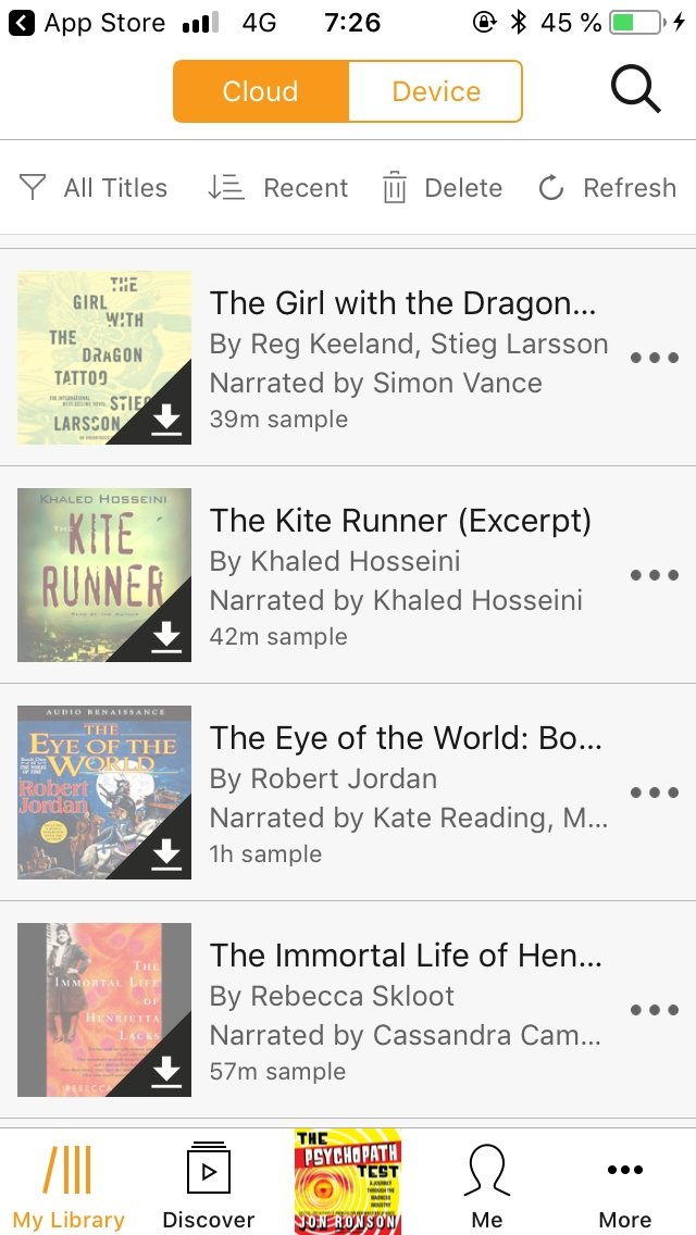 download audible audiobooks to iphone