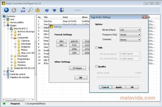 Audio Converter and Ripper