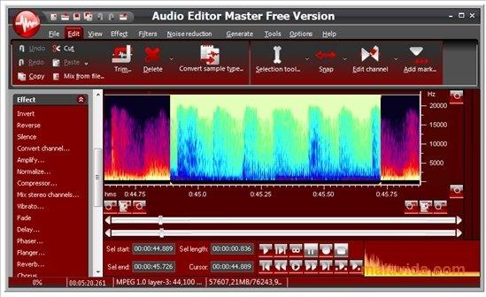 Audio Editor Master