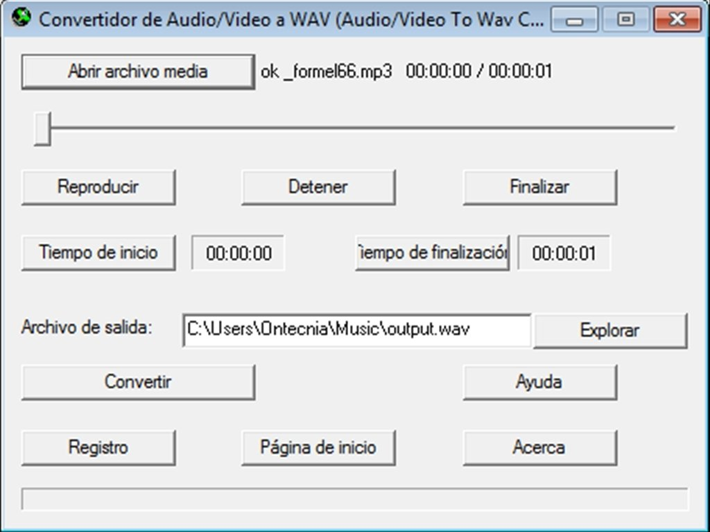 Audio Video to Wav Converter image 4