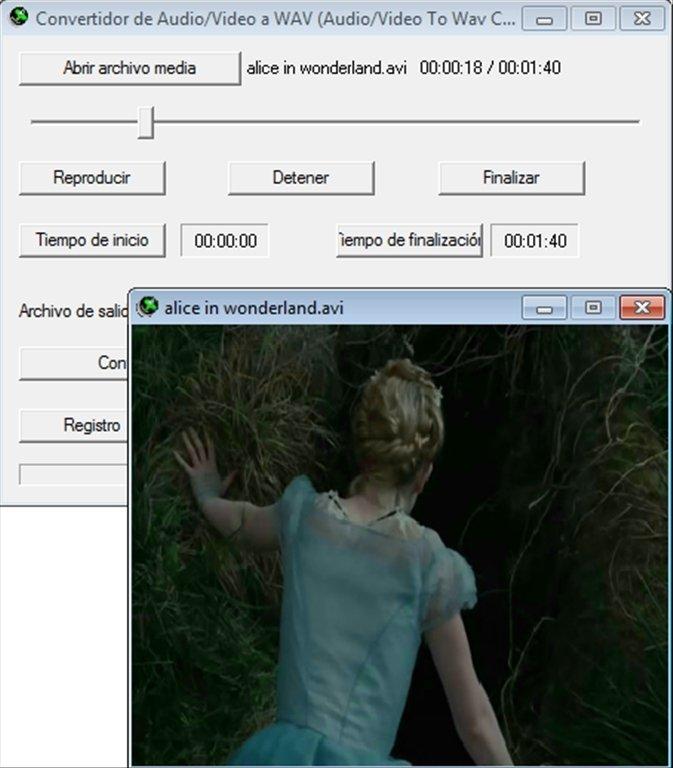 convert video to wav free download