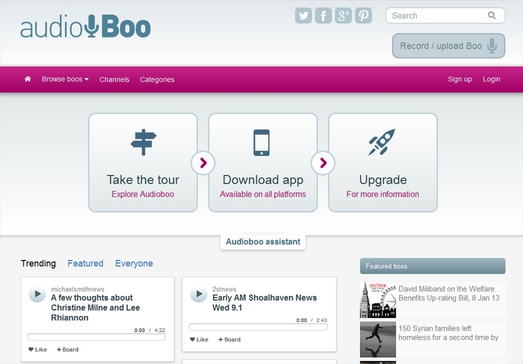 Audioboo Webapps image 6