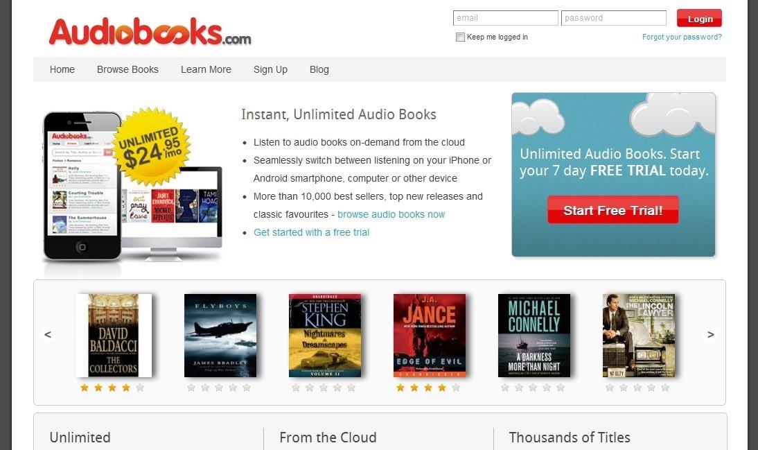 Audiobooks.com Webapps image 5